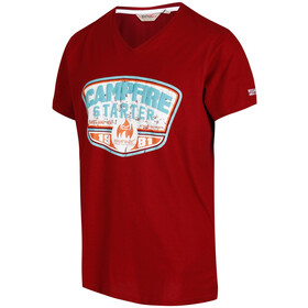 Regatta Calton t-shirt Heren, delhi red